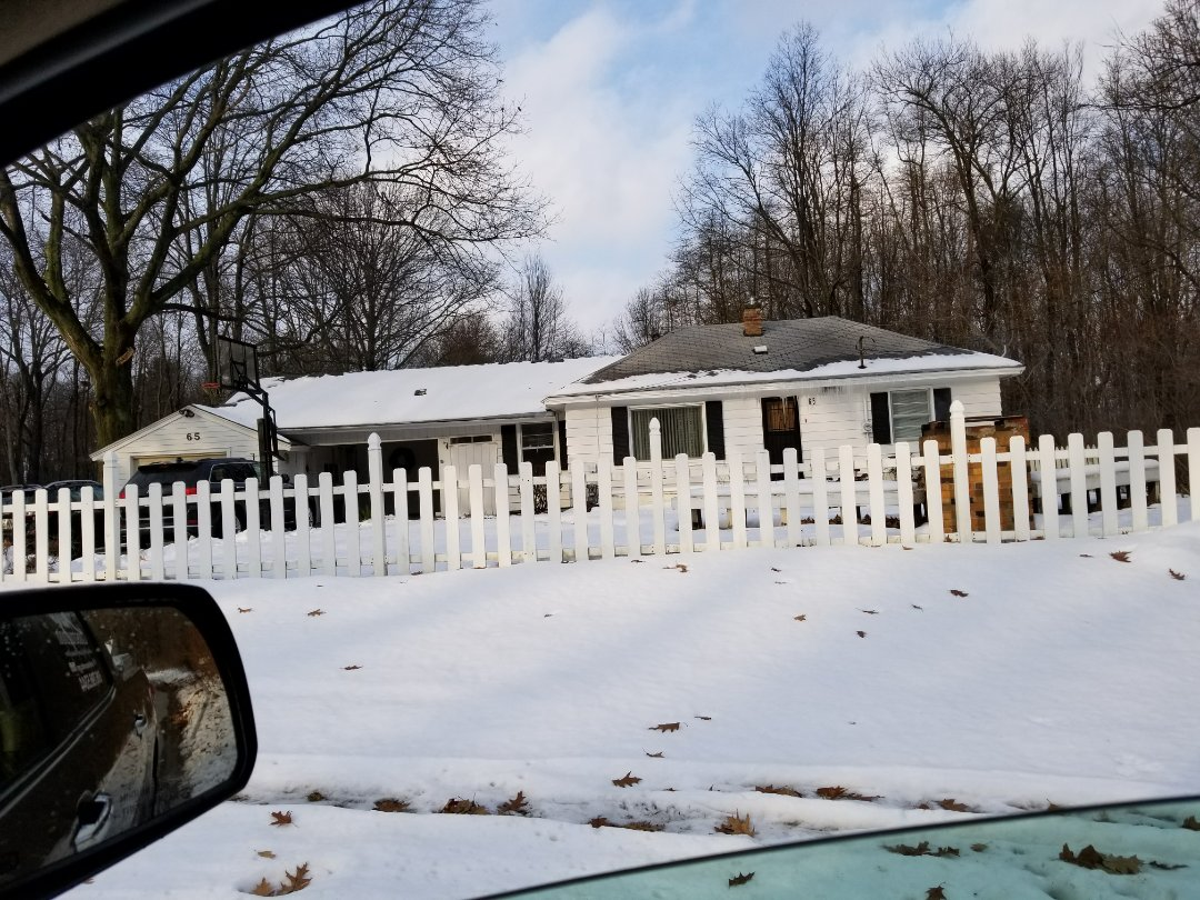 Holland, MI - Meeting with a brand new homeowner to get a new roof