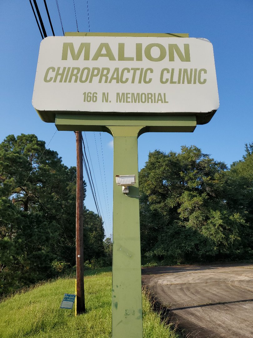 Prattville, AL - Lovely afternoon to do a closing survey on the old Malion Chiropractic Clinic.