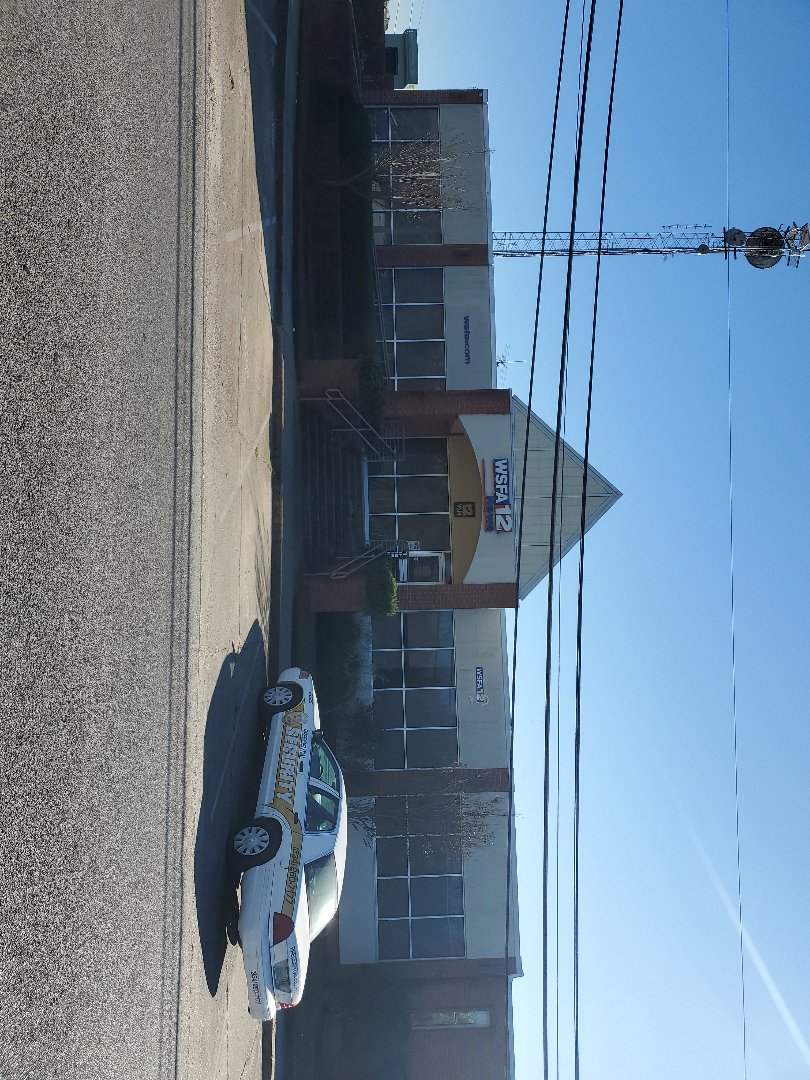 Montgomery, AL - We are surveying the old WSFA building!