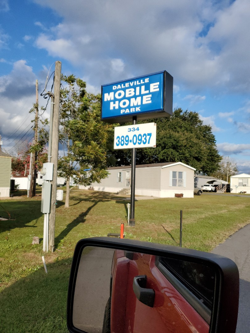 We are still working on an ALTA survey at Daleville Mobile Home Park!