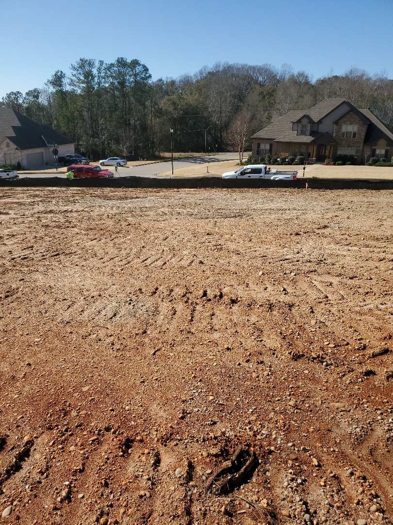 Prattville, AL - We are laying out a house in Hearthstone for one of our builders!