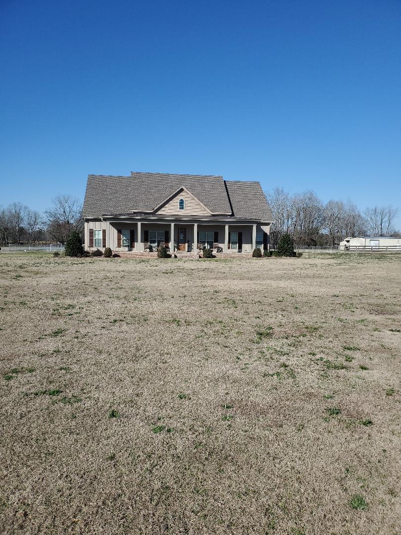 We are working on a retracement survey on Rucker Road in Coosada!