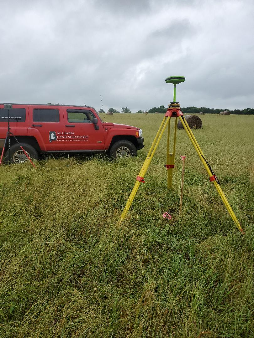 Prattville, AL - We are getting ready to survey about 25 acres in Prattville! It's a gorgeous morning despite the storms last night!