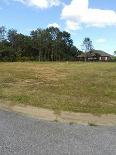 Surveyor Millbrook, AL | Boundary survey and layout of slab for new home construction in Millbrook, Alabama