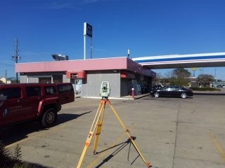 Buying or selling commercial property? Let us perform the necessary survey. We finished Retracement Survey of Marathon gas station. Commercial property located in Montgomery, Alabama.