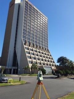 ALTA/NSPS survey of Marriott hotel in Mobile, Alabama