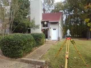 Flood elevation certificate in Pelham, Alabama