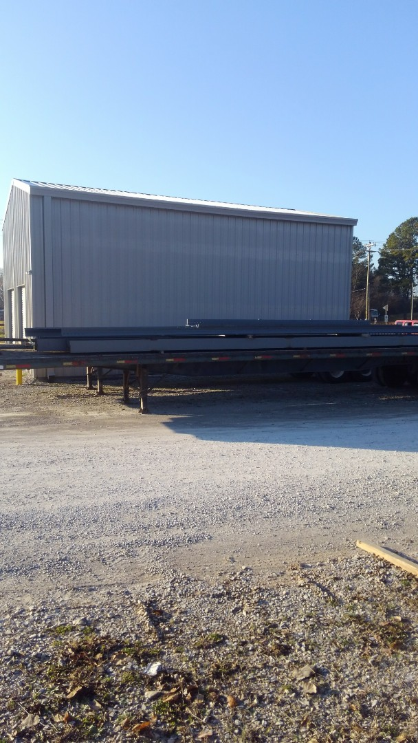 Flood elevation certificate in Decatur, Alabama for new commercial construction.
