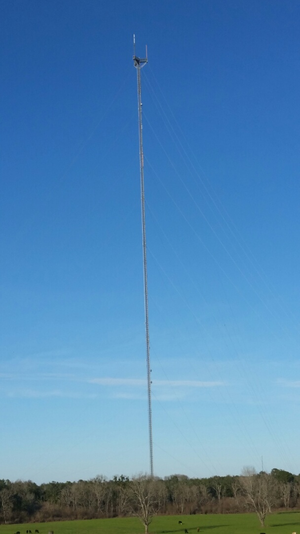 ALTA/NSPS Land Title Survey for a cell tower topping 2,500' in Robertsdale, AL.