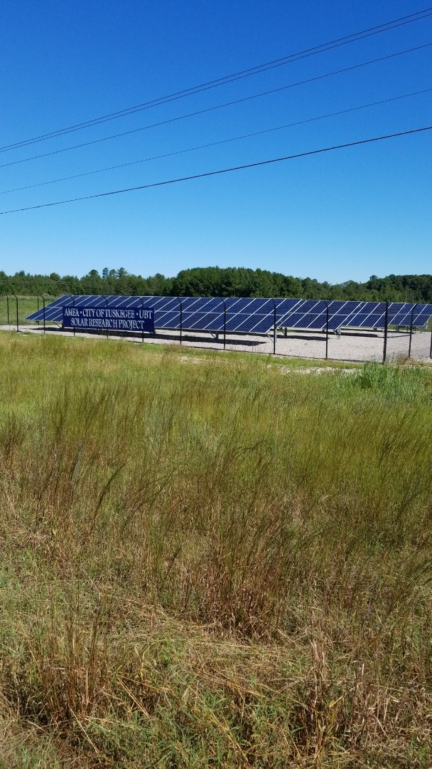 Another completed Solar Project. This one was for the City of Tuskegee. It's always pleasure working with AMEA