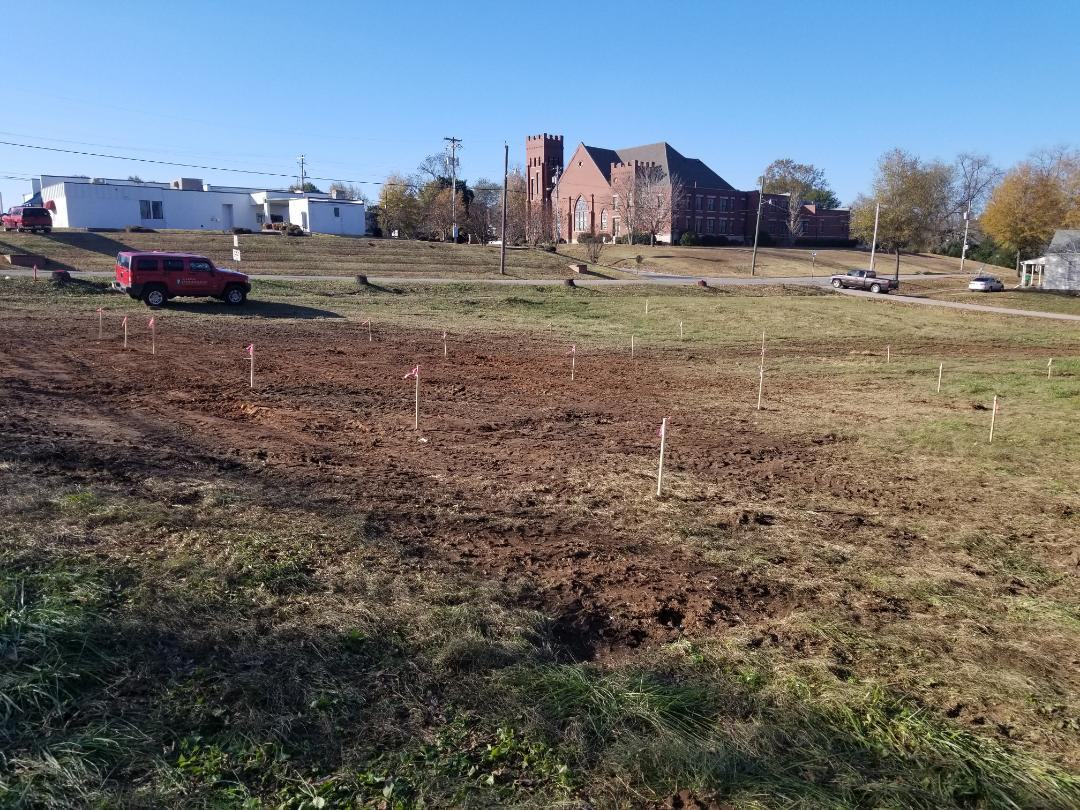 AMEA installing a new 50KW solar yard in Lafayette Al. We really appreciate AMEA and laying these sites out.