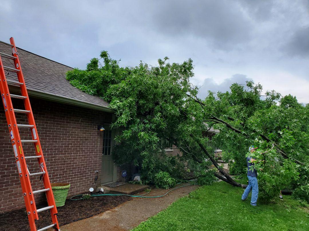 Bedford, IN - Storm Damage roof repair Bedford Indiana