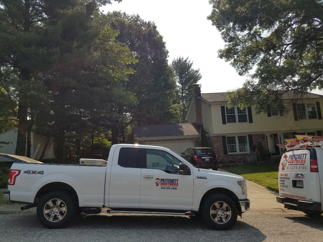 Bloomington, IN - New Roof Replacment!  GAF Applachian Sky