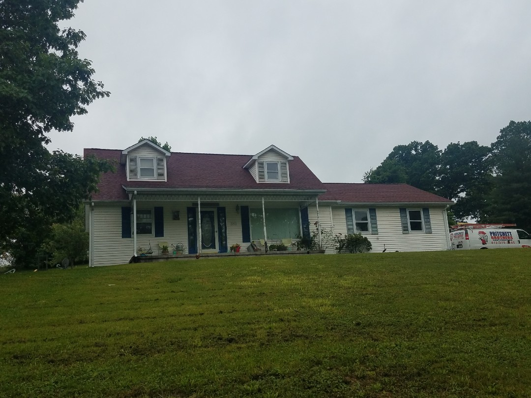 Bedford, IN - GAF Patriot Red Bedford, In Roof Replacment