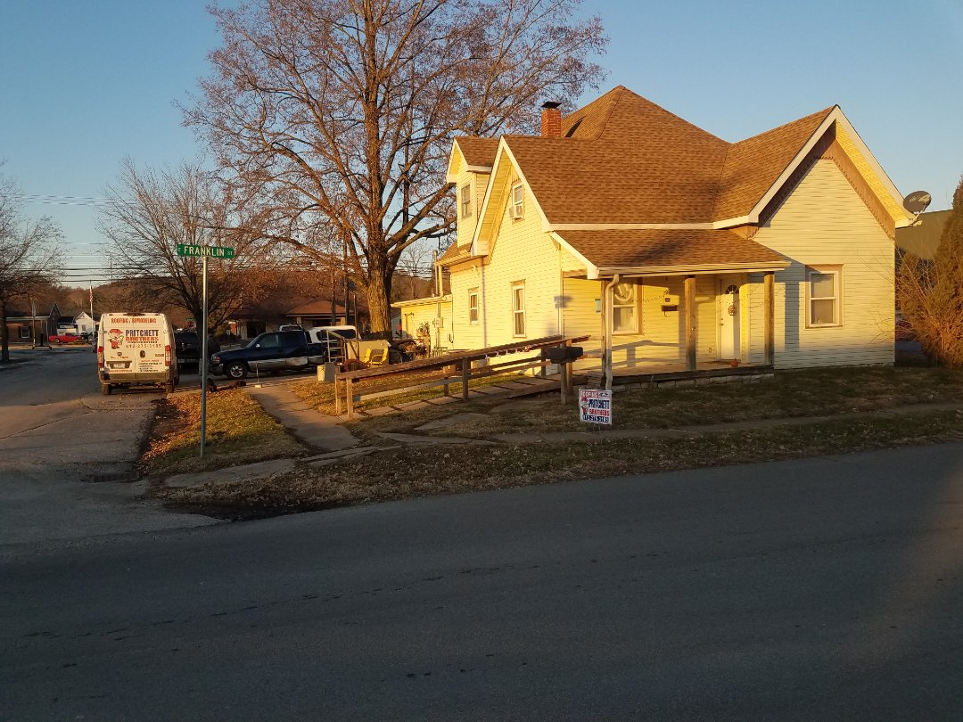 Spencer, IN - Roof Replacement: Spencer, IN GAF TIMB HD SHAKEWOOD