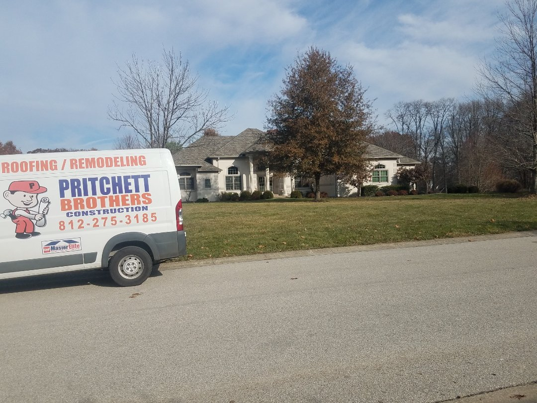 Bloomington, IN - Bloomington, IN Roof Replacement. Camelot II Weathered Timber