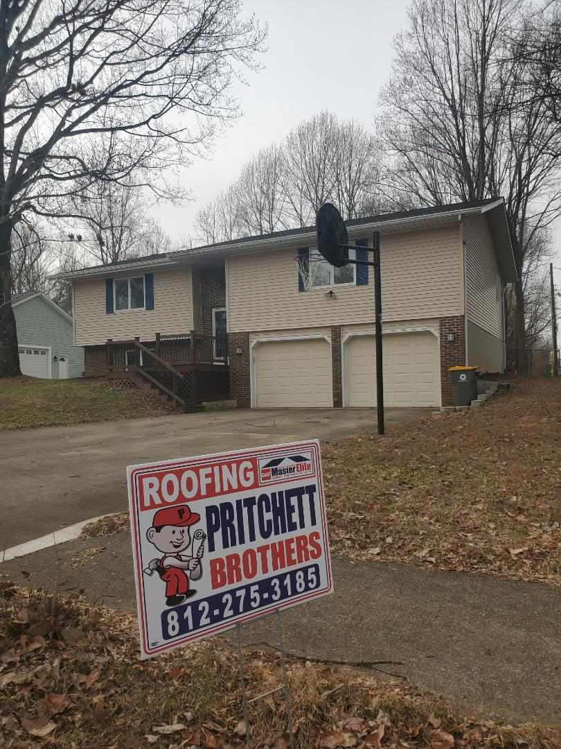 Bloomington, IN - Another roof replacement complete in Bloomington