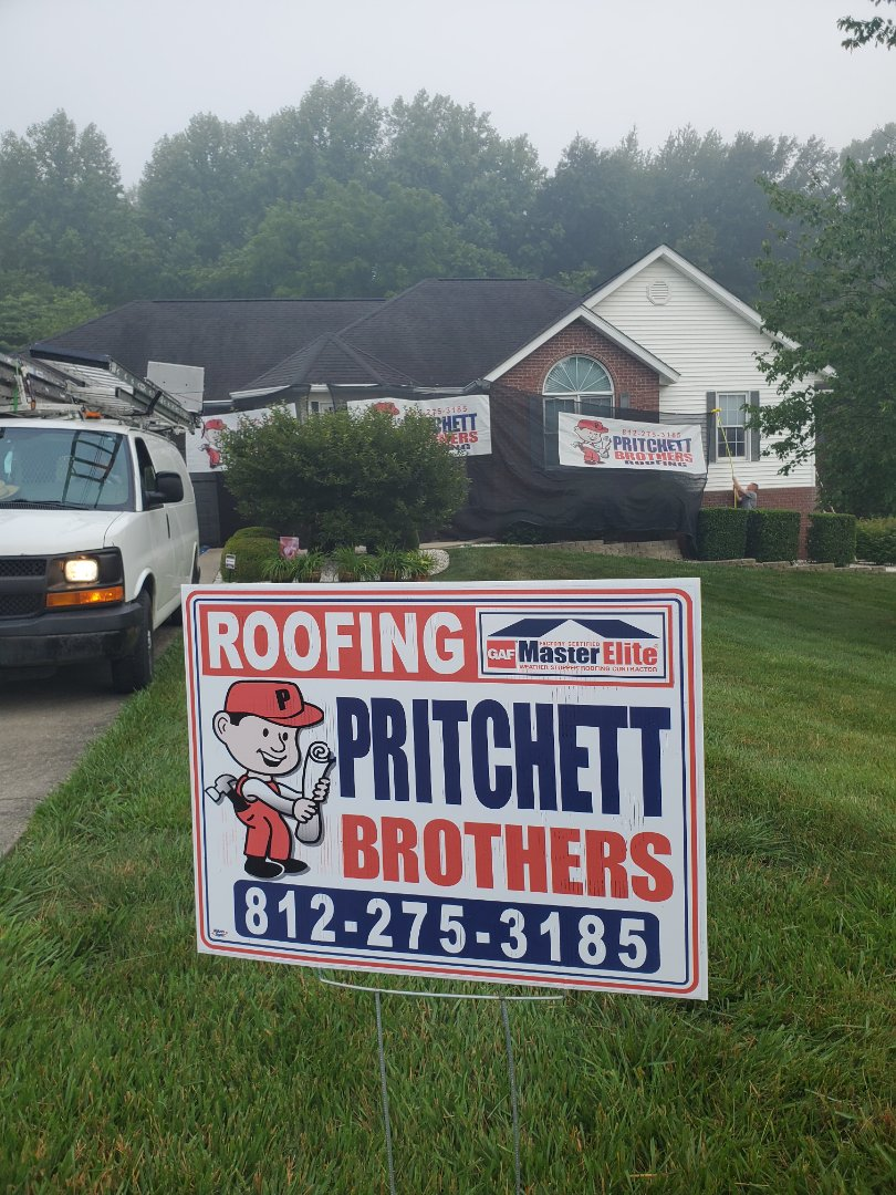 Mitchell, IN - Starting another full roof replacement today in Mitchell.