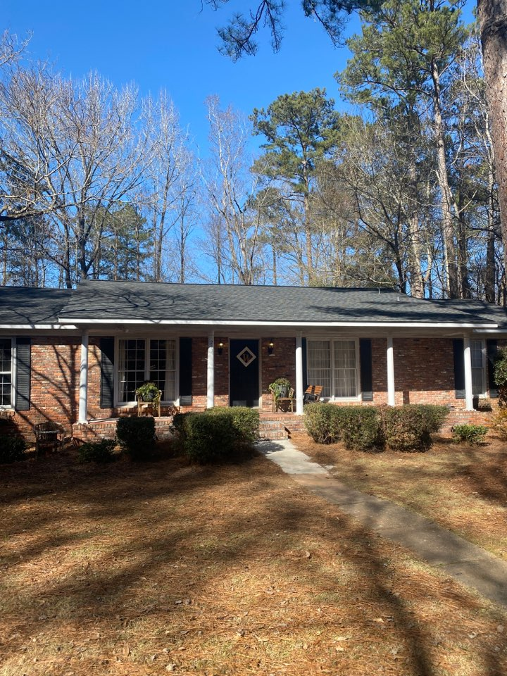 Auburn, AL - Reroof project in auburn. Homeowner had a 20+ year old roof that was starting to fail. We came in and install an entirely new roof system with a 50yr non prorated warranty from GAF!! Superior Roofing