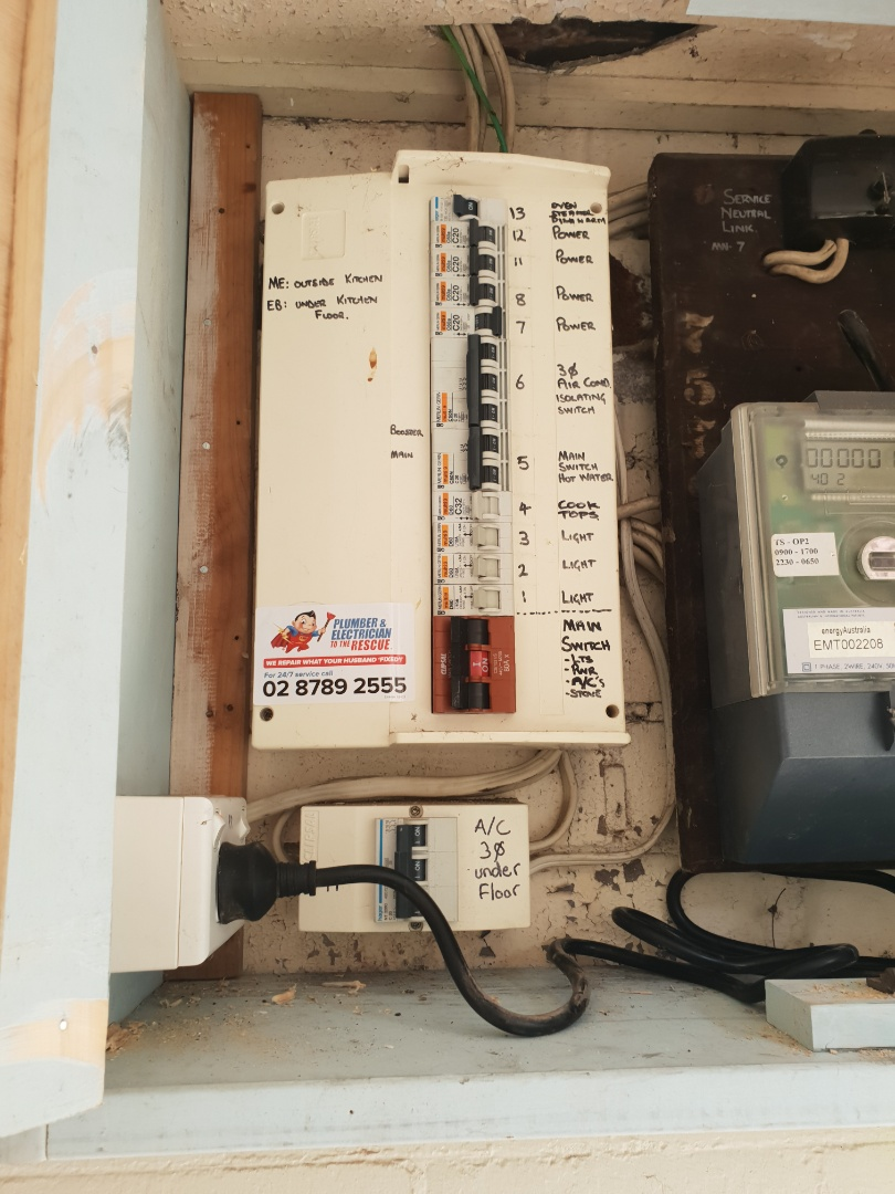 Longueville, NSW - Clipsal electrical service repair