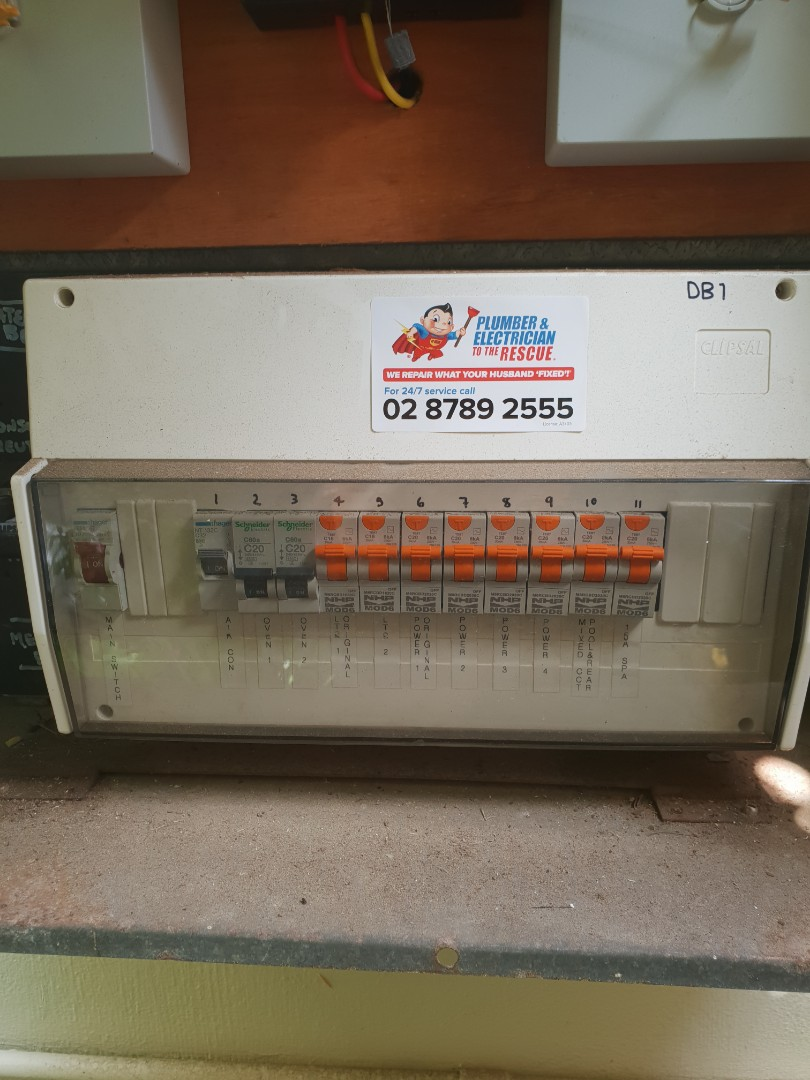 Chatswood, NSW - Clipsal electrical service repair