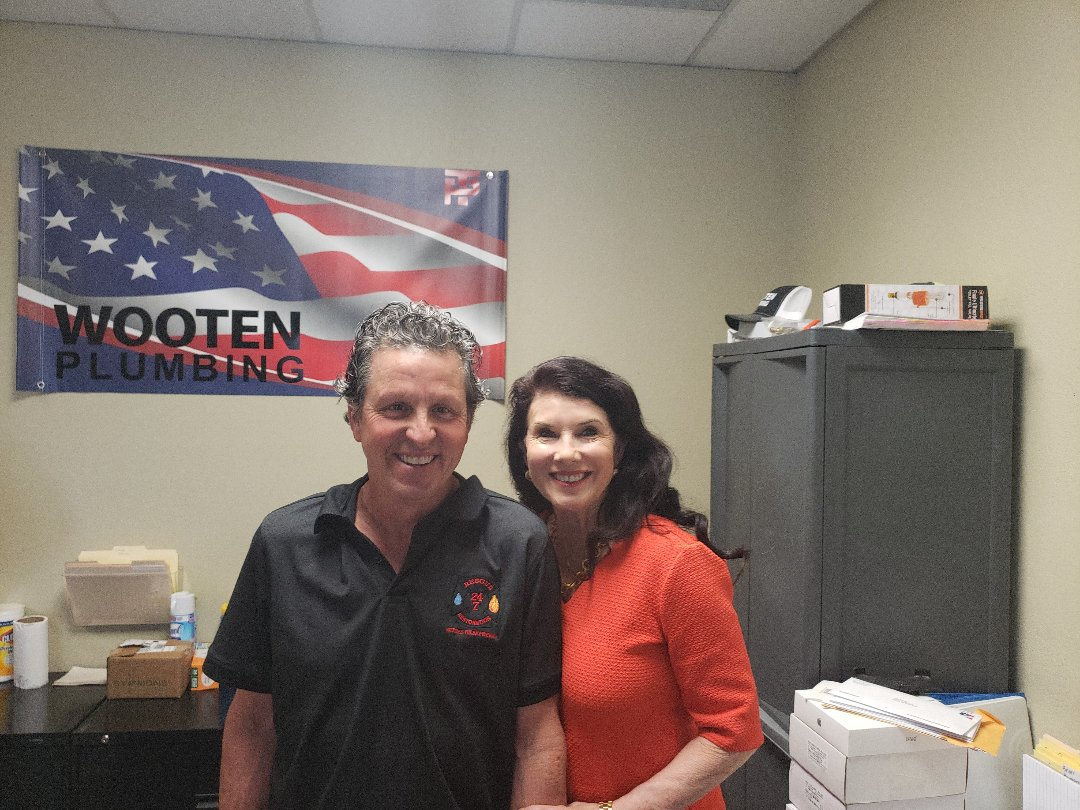 Another great morning at Wooten Plumbing, meeting with some great restoration guys, Rescue 24/7 restoration!