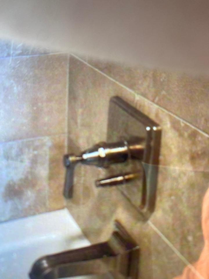 Owasso, OK - Fix stuck diverter for shower