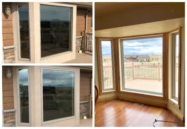 Great Falls, MT -  We replaced 13 windows in this beautiful home just outside of Great Falls.