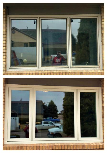 Torrington, WY - Our team replaced this old window in Torrington!