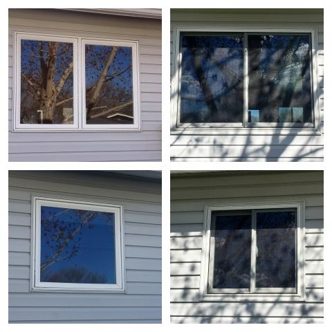 Laurel, MT - These new sliders replaced old leaky casements in Laurel