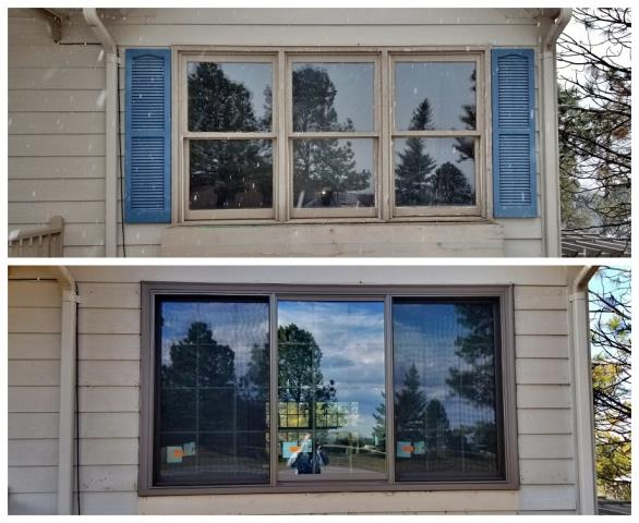 Rapid City, SD - We updated the look of this home in Rapid City with some new insulated Renewal by Andersen Fibrex windows!