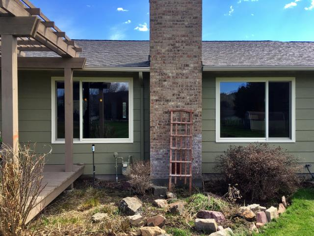 Missoula, MT - Our team of professional installers replaced 6 smaller old windows with these larger new Renewal by Andersen Fibrex windows in Missoula!