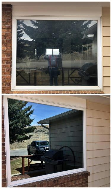 Rawlins, WY - This old picture window got an upgrade with a Renewal by Andersen Insulated Fibrex window in Rawlins!
