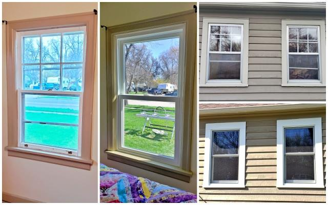 Billings, MT - We replaced 90 year old single pane wood double hung windows with Renewal by Andersen fibrex double hung inserts on this charming home in Billings.