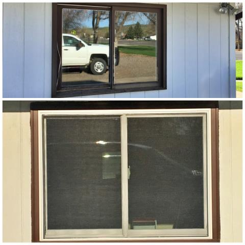 Thermopolis, WY - This local church got a facelift with some new Renewal by Andersen sliding windows in Thermopolis!