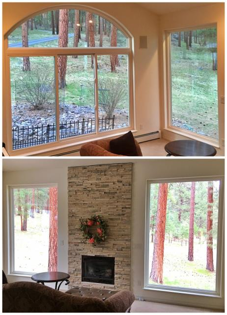 Missoula, MT - Here's an inside view at a job we recently did in Frenchtown!