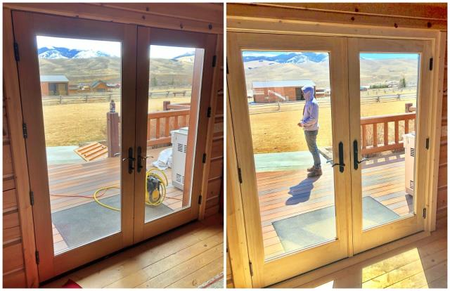 Laramie, WY - We replaced the windows and patio doors on this beautiful home with Renewal by Andersen windows in Laramie!