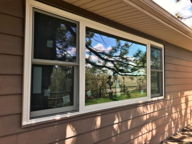 Cheyenne, WY - Replaced rotten wooden windows with RBA Fibrex windows on this home in Cheyenne!