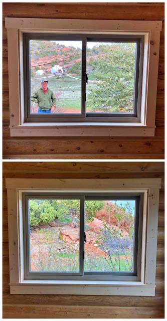 Lander, WY - Acouple windows we recently replaced in Lander
