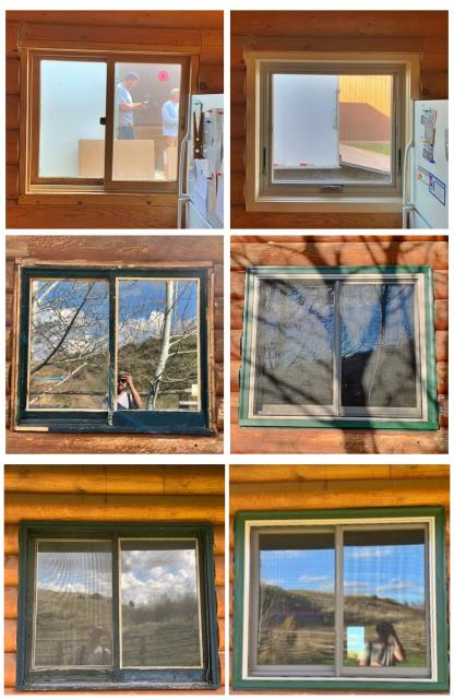 Billings, MT - We updated the look of this house in Billings and replaced wood brick mold windows with insulated fibrex windows from Renewal by Andersen of Montana.