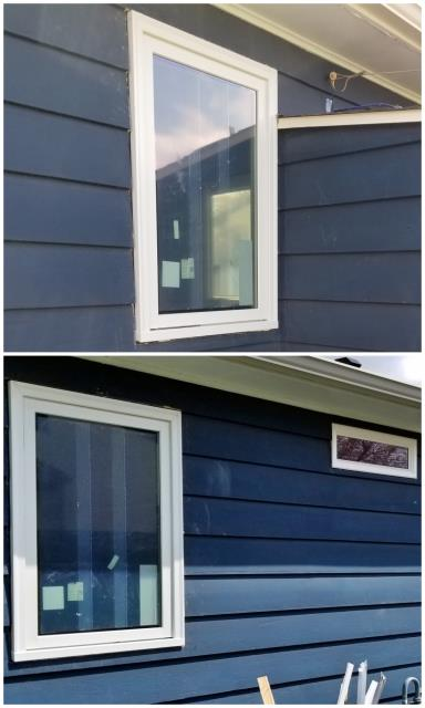 Rapid City, SD - This home in Rapid city got an updated look when we replaced original wood windows with new Renewal by Andersen gliders and casement windows.