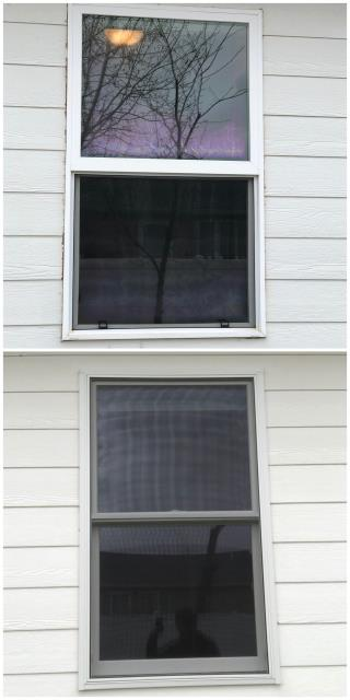 Helena, MT -  We updated three windows on this home in Helena. The homeowner is very happy that these windows match the rest of the windows!