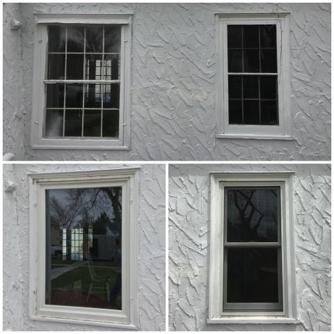 Douglas, WY - We replaced pocket fit windows from 1936 with new Renewal by Andersen windows in Douglas, Wyoming.