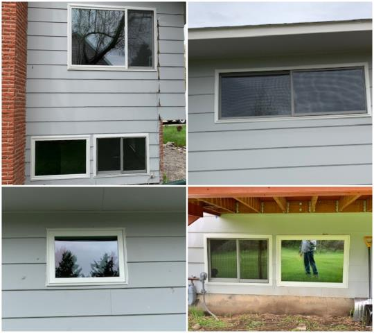 Bozeman, MT - Removed aluminum clad windows and replaced with Renewal by Andersen fibrex windows on this home in Bozeman!