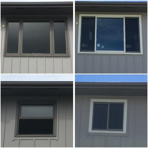 Casper, WY - We updated this home in Casper with new Renewal by Andersen windows