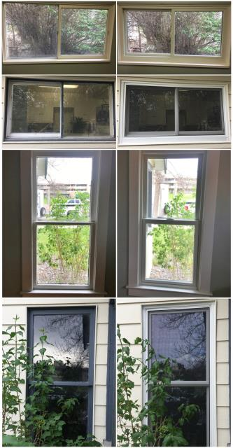 Powell, WY - We replaced old leaded glass windows with new Renewal by Andersen Fibrex windows in Powell