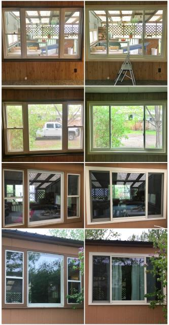 Miles City, MT - We replaced old worn out windows with new RbA Fibrex windows in Miles City.