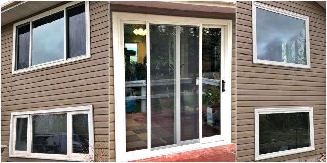 Helena, MT - We replaced 8 windows and 1 patio door in north valley of Helena. These windows will create more efficient and sleek design.