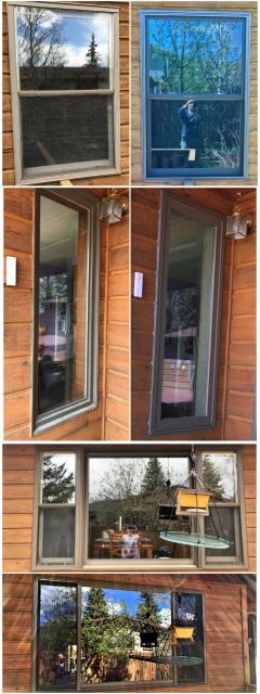 Laramie, WY - We replaced several windows and a patio door on this home in Laramie with RbA windows.