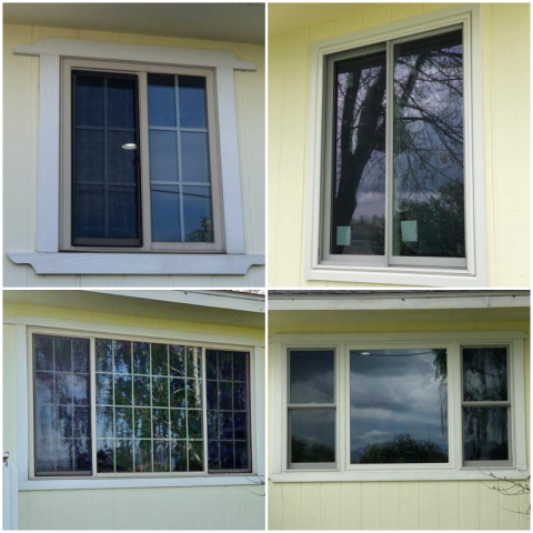 East Helena, MT - We replaced seven windows in this East Helena , MT home.  These windows really cleaned up this home adding efficiency and clarity.